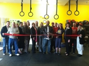 Crossfit Survival Ribbon Cutting