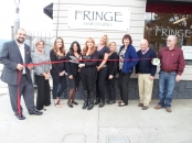 Fringe Hair Studio Ribbon Cutting