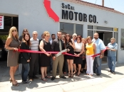 So Cal Motor Ribbon Cutting