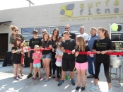 Surface Fitness Ribbon Cutting