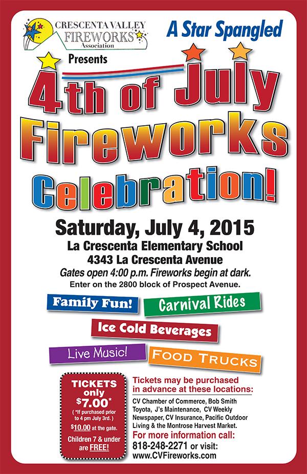 4th of July Fireworks @ La Crescenta Elementary School | La Crescenta-Montrose | California | United States