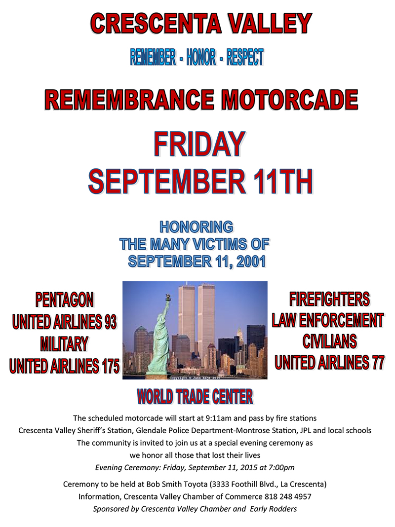 Remembrance Motorcade @ Glendale | California | United States
