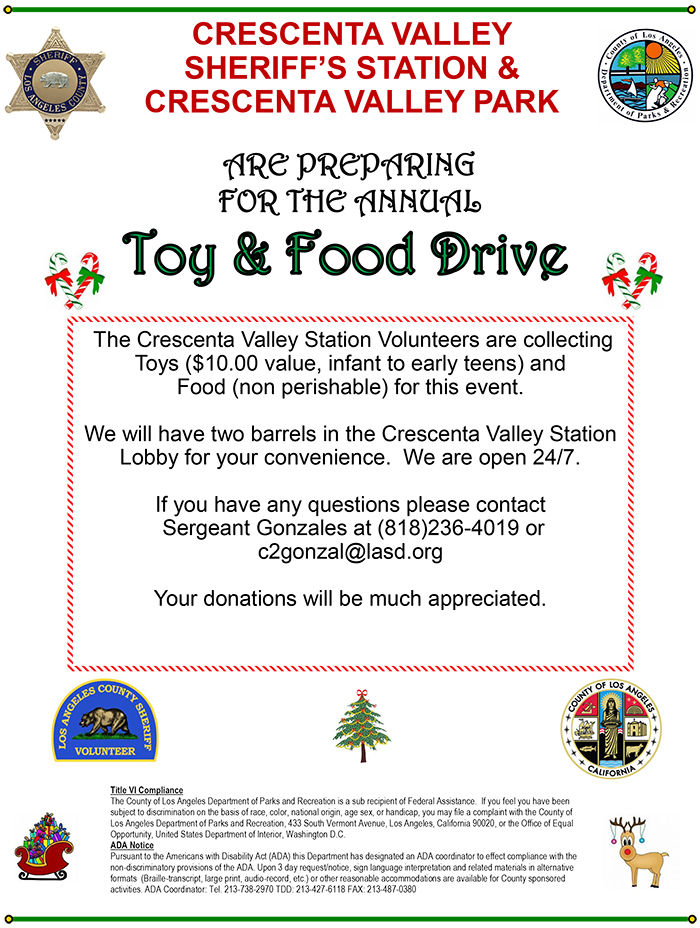 Toy & Food Drive
