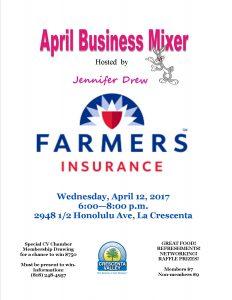 Farmers Jennifer Drew June 2017 Mixer