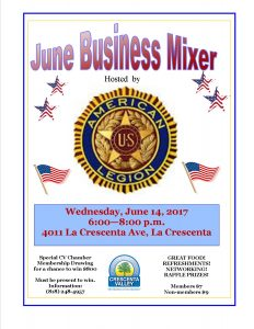 American Legion June 2017 Mixer