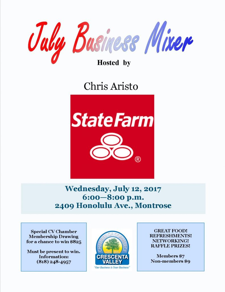 Aristo July 2017 Mixer