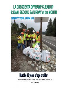 La Crescenta Off-Ramp Clean Up @ La Crescenta Ave. & Altura Ave.