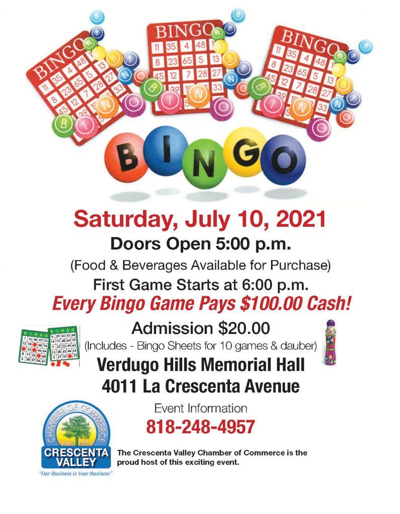 Bingo Flyer 2021
